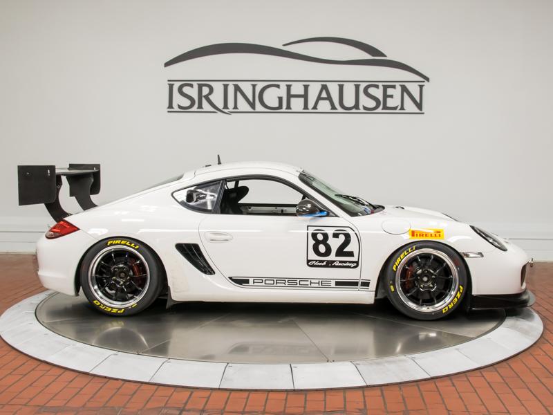 2012 porsche cayman r race car isringhausen motorsports. Black Bedroom Furniture Sets. Home Design Ideas