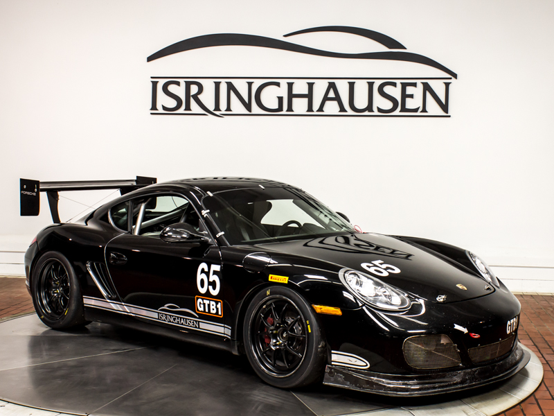 2009 Porsche Cayman S 34L DFI Race Car SOLD  Isringhausen