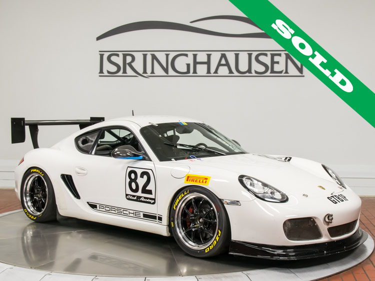 2012 Porsche Cayman R Race Car Isringhausen Motorsports