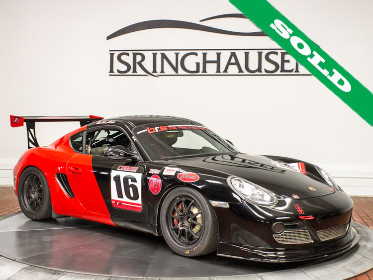 2010 Porsche Cayman S Race Car Sold  Isringhausen Motorsports