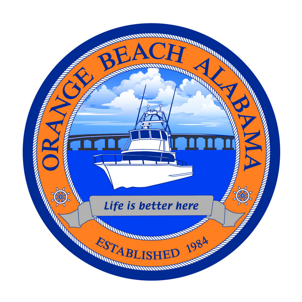 City of Orange Beach, Alabama Official Logo