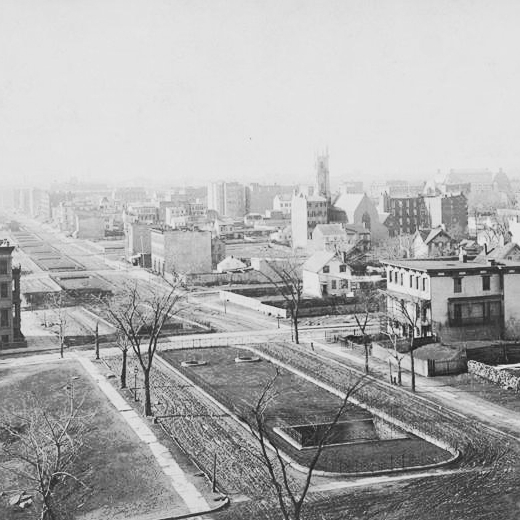 View from roof of George Ehret home at Park Ave and 94 St Looking west.jpg