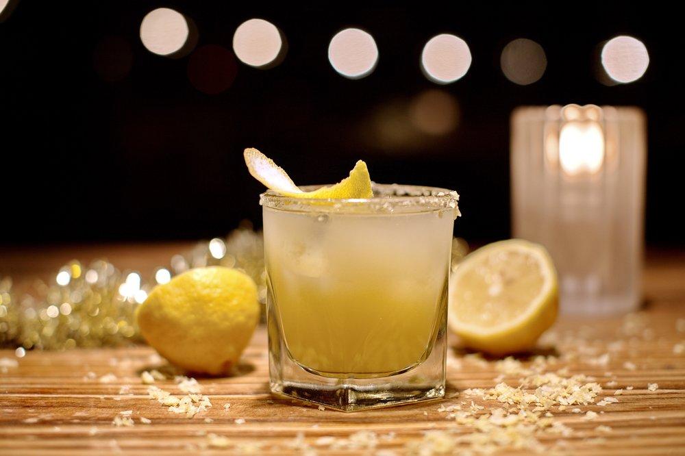 Chinita Bonita - Lunazul Tequila, Ancho Reyes, House Ginger Syrup, Grapefruit Juice