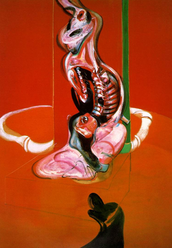 "Francis Bacon, ""Study of a Crucifixion #3"""