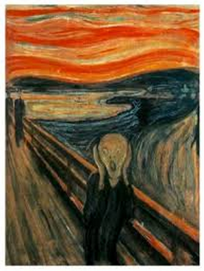 The Scream, Edvard Munch.