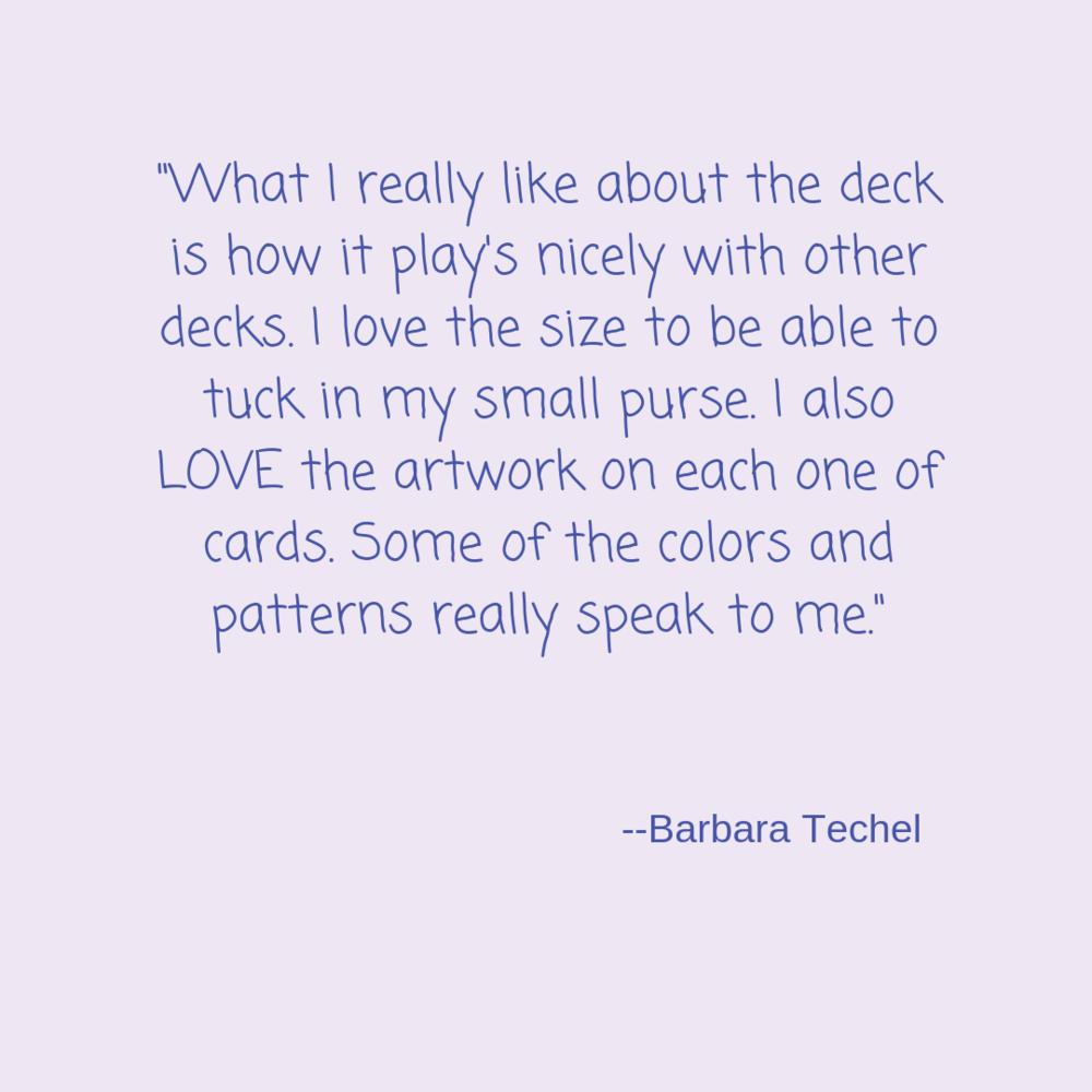 testimonial Barbara techel