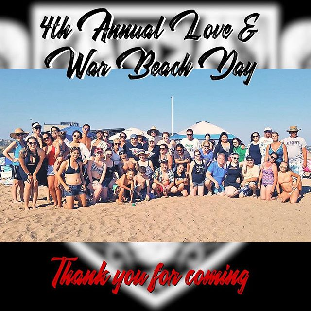 Today was so much fun at the beach. Thank you to everyone who came out to our #loveandwar #annual #beachday We had a blast and we hope you did too. #funinthesun #musicbringsustogether