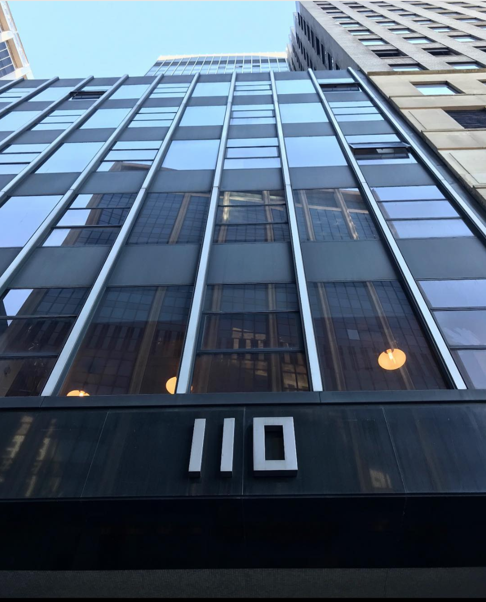 Our office in the Financial District