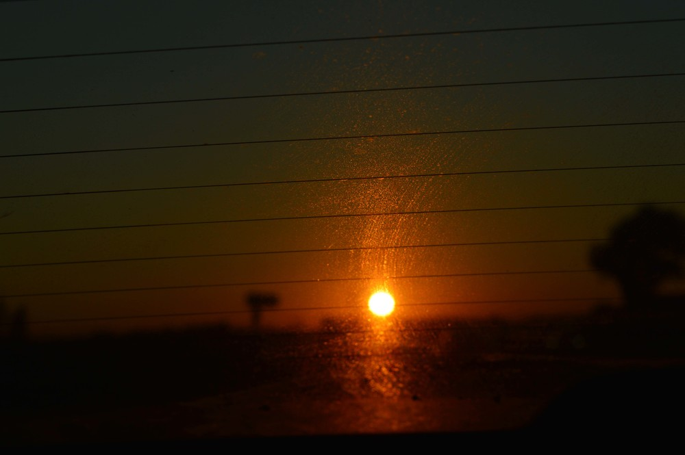 An image Des took whilst we were driving home in a Yorkshire Sunset the other day. It seemed pretty apt for this post!