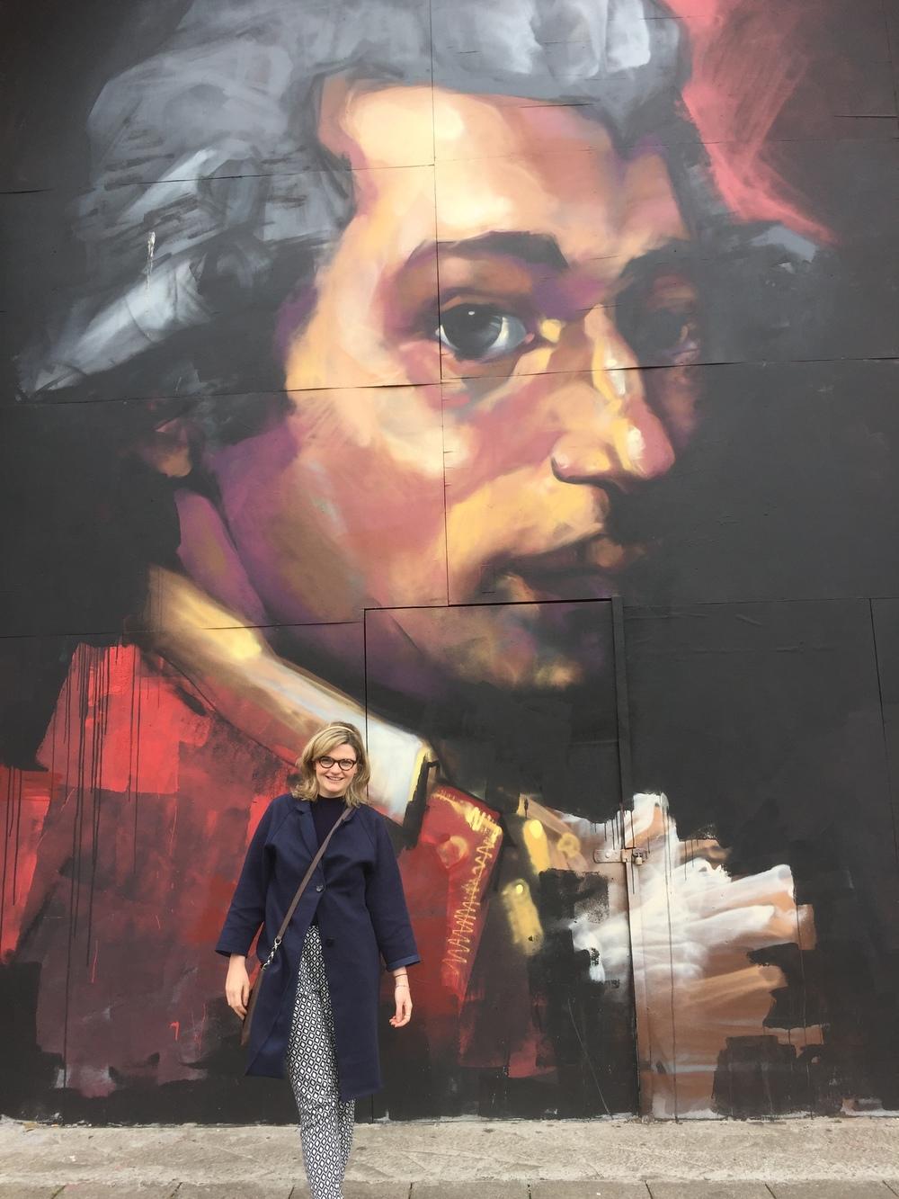 Sage Gateshead Mozart Graffiti