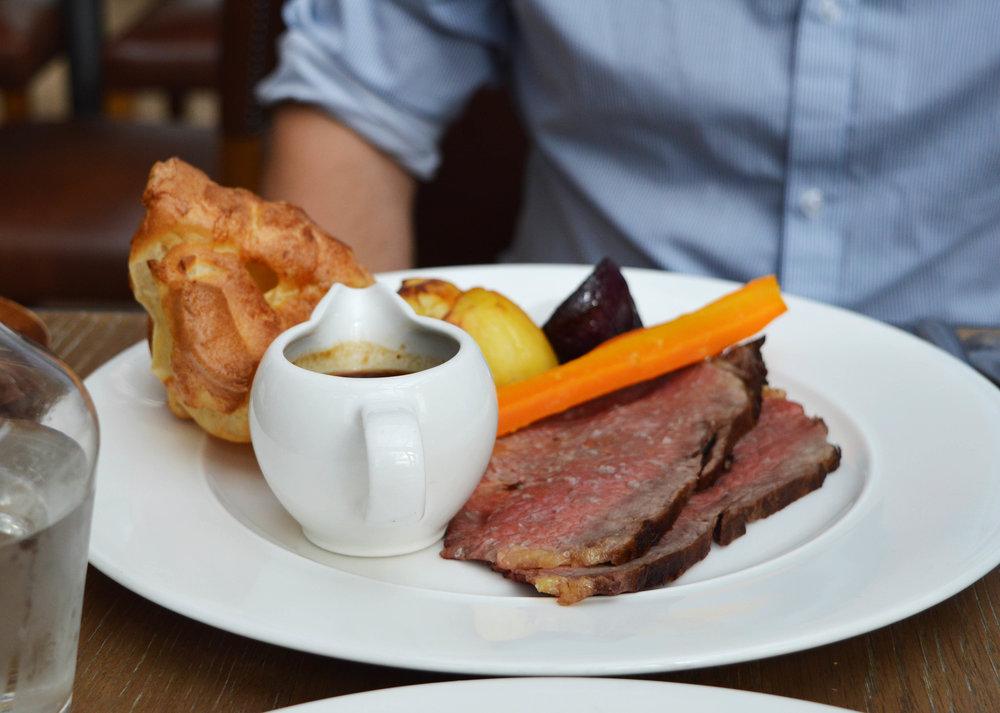 Sunday Roast at the Royal York Hotel