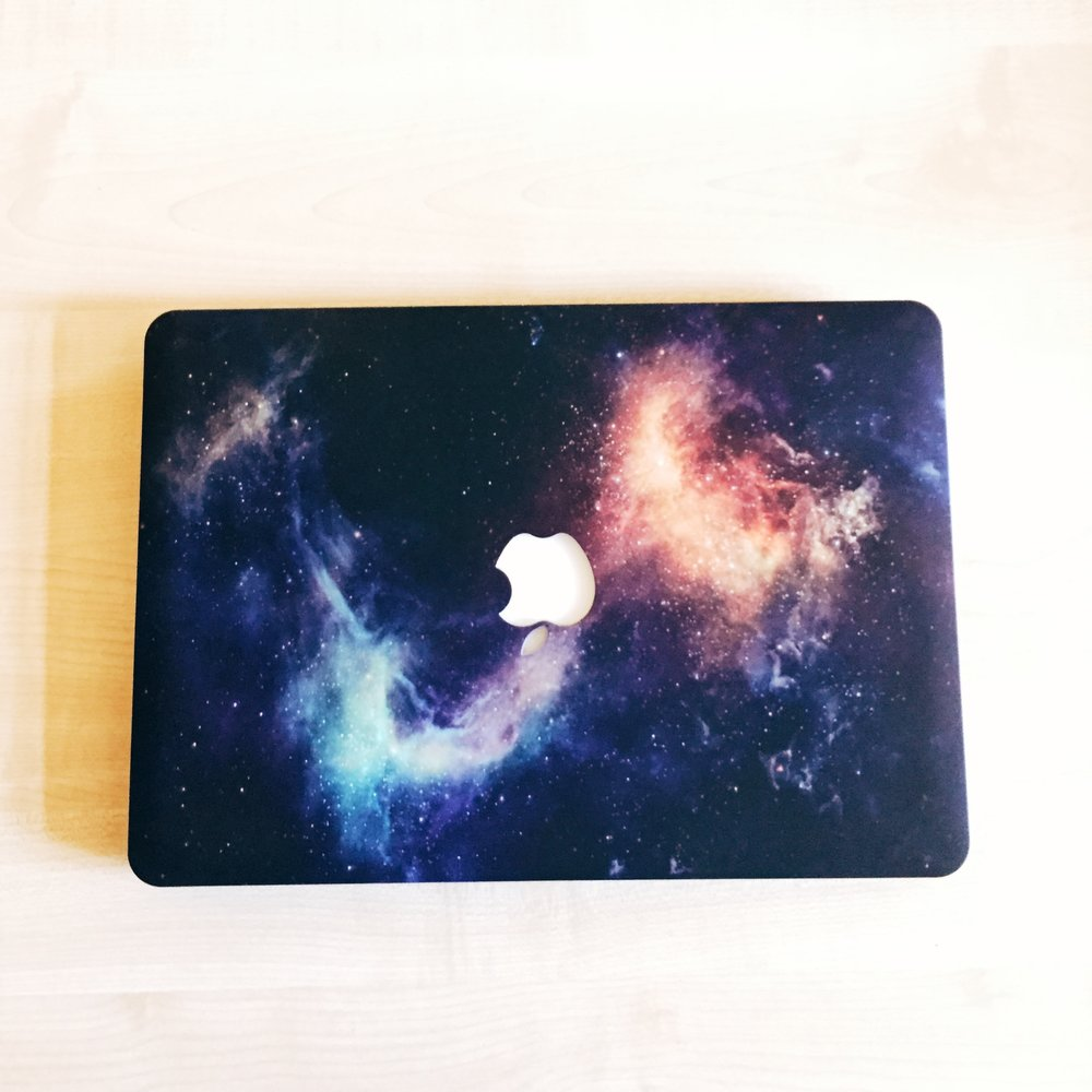 space MacBook pro case