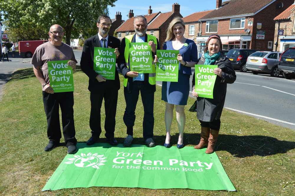 Bethan Vincent Green Party