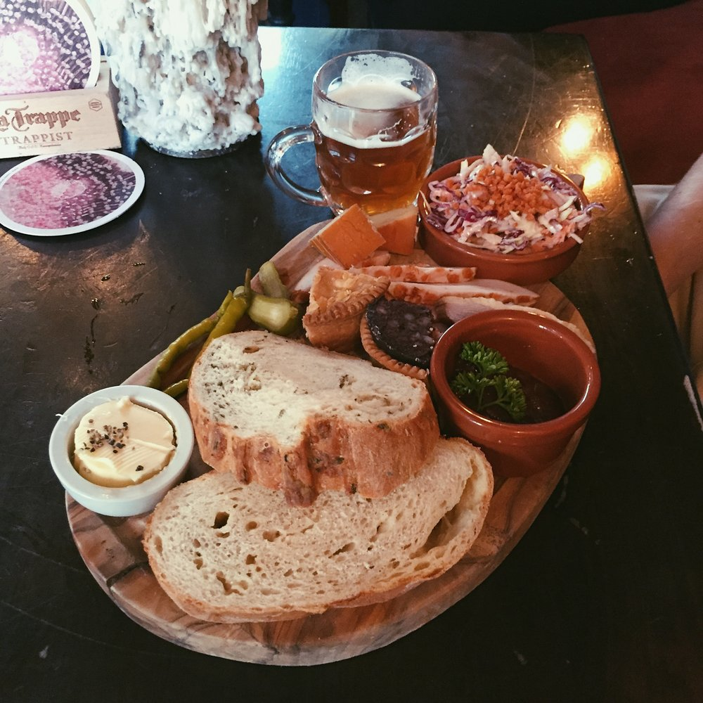 Platters at The House of The Trembling Madness York