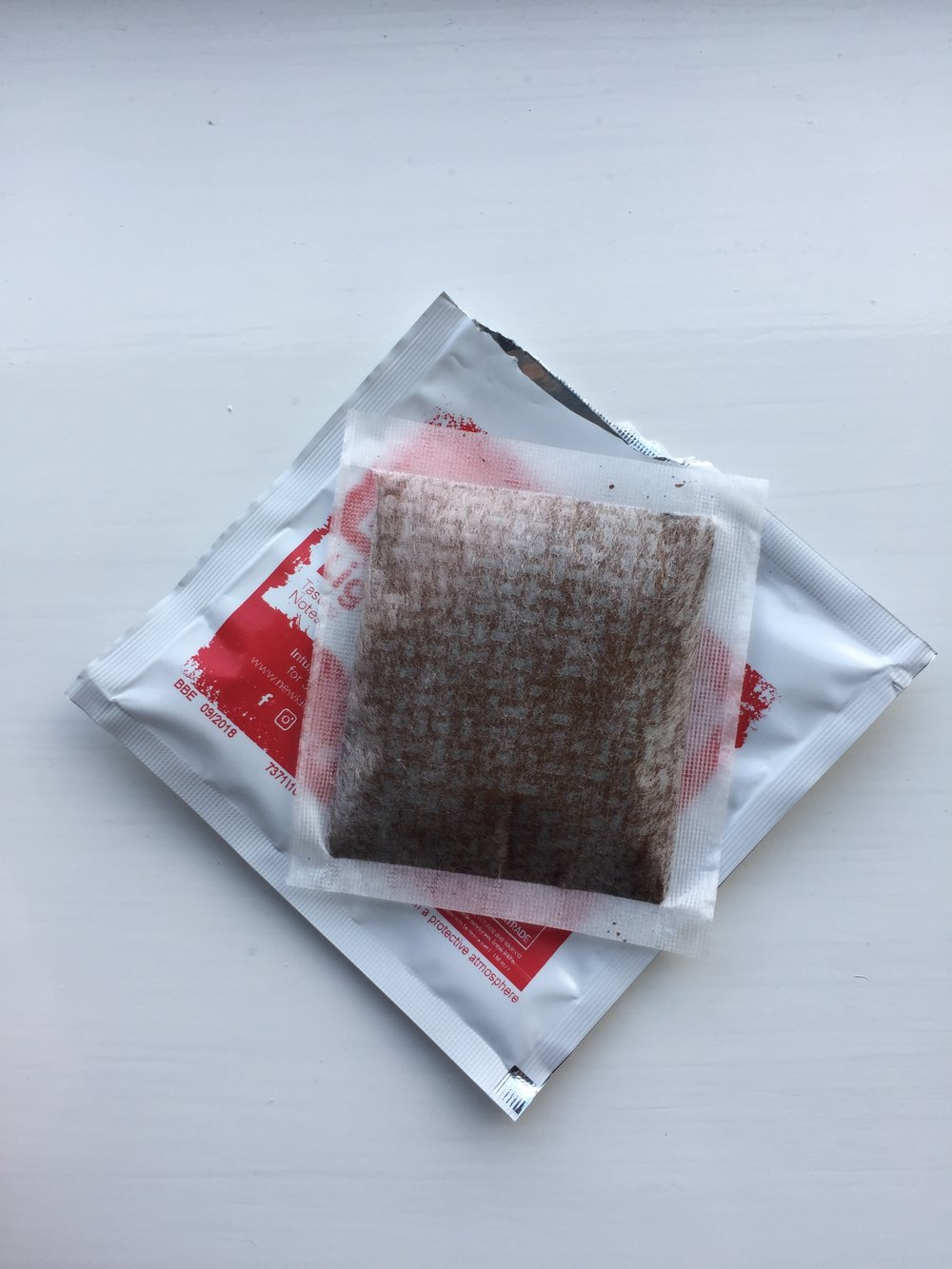 Coffee in a teabag review