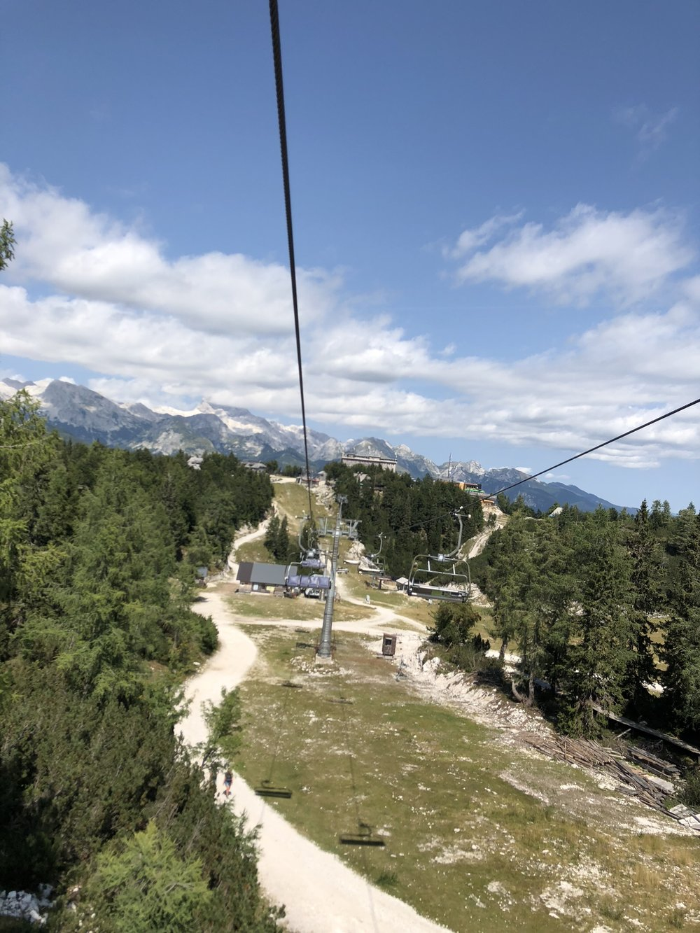 Cable car at Vogel Ski Resort