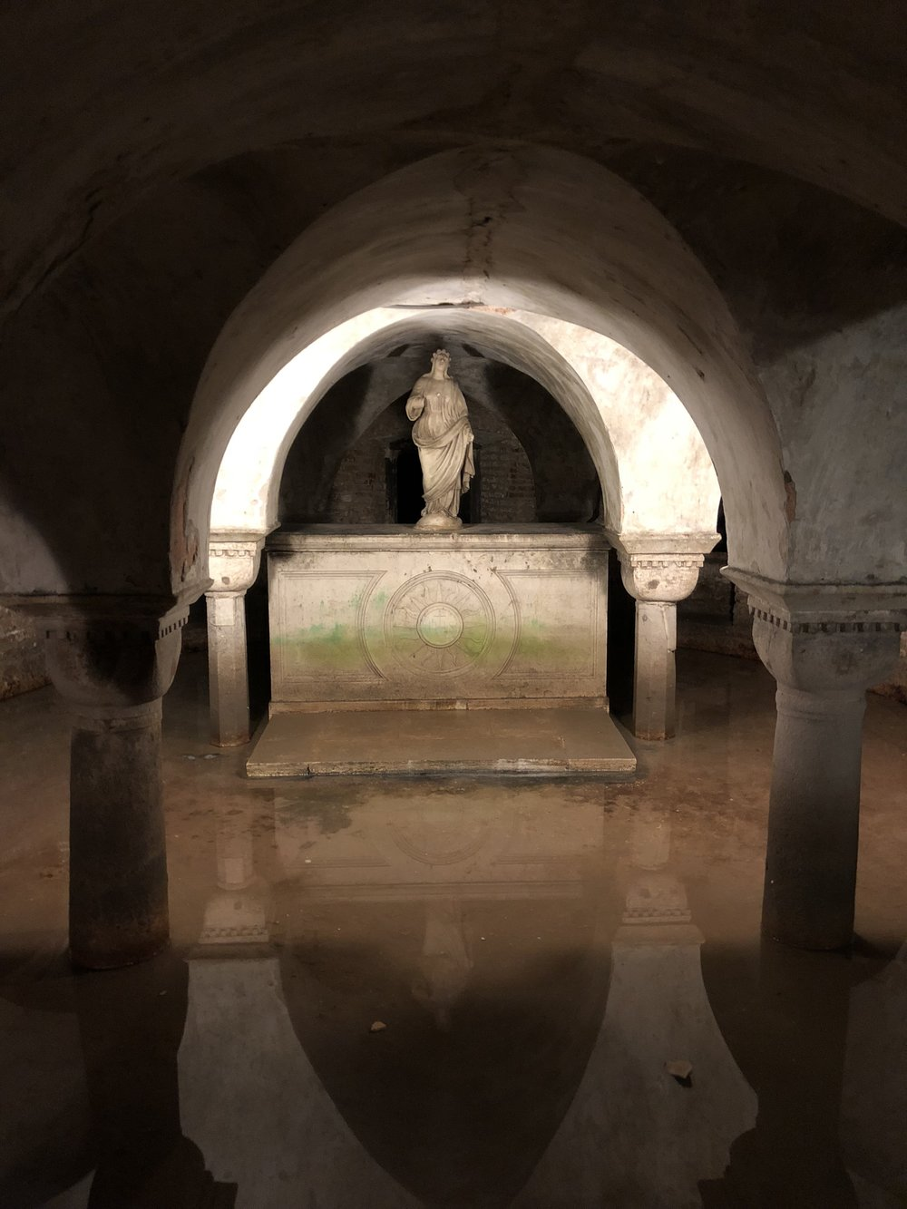 The Flooded Crypt of San Zaccaria