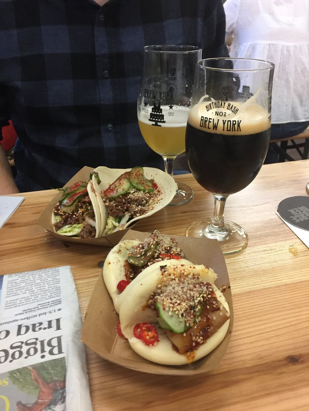 Bao Buns from Street Cleaver at Brew York