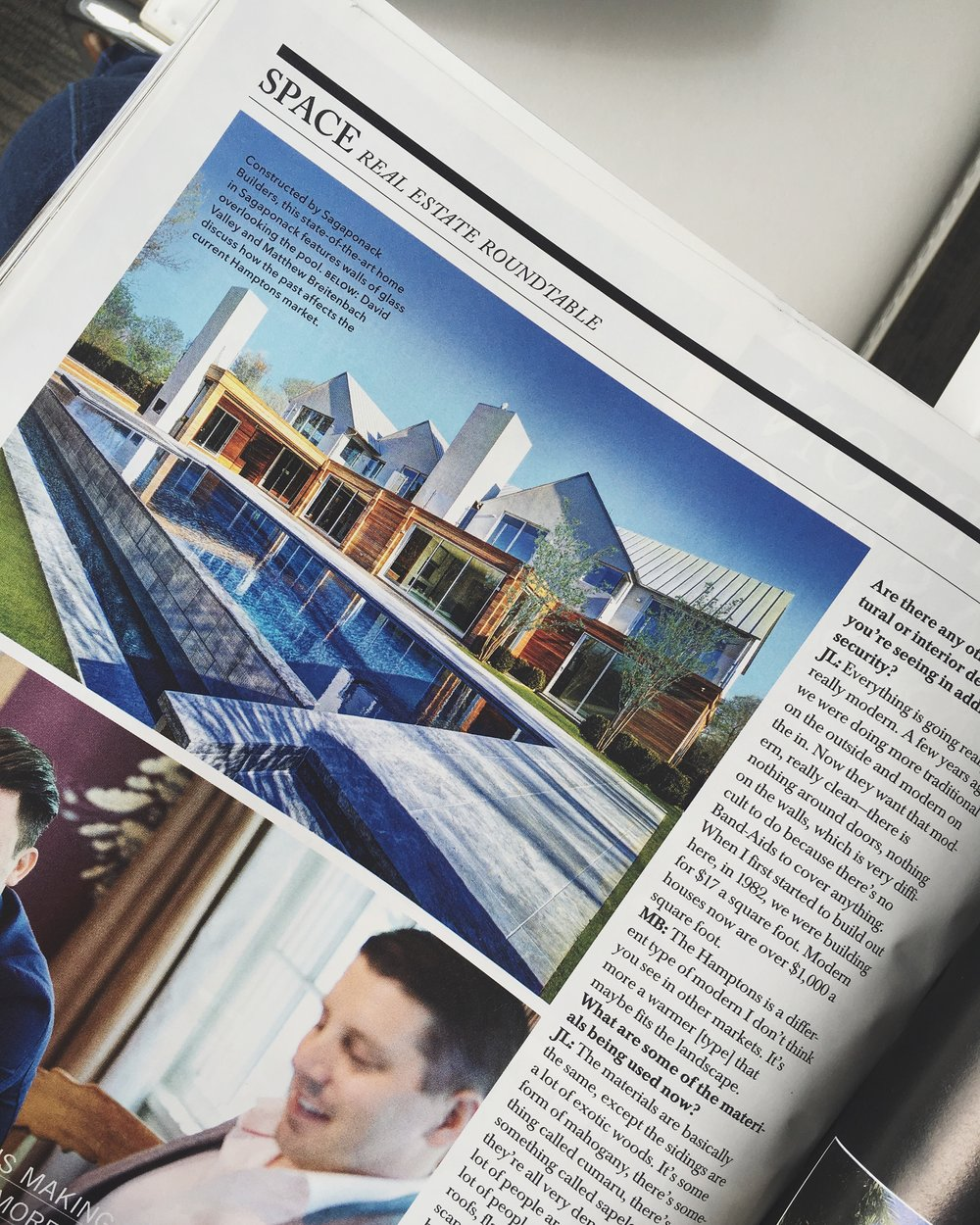 One of my completed projects located on 74 Ericas Lane in Sagaponack NY, was recently featured in Hamptons Magazine.