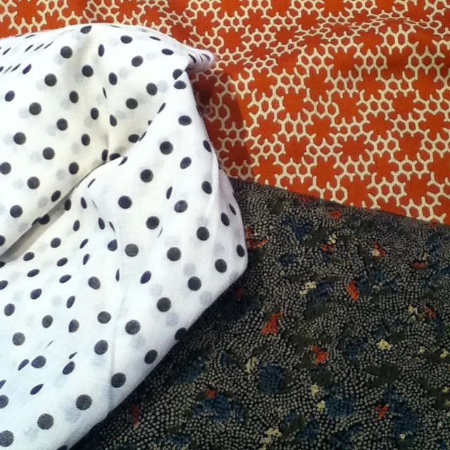 Gina went Los Angeles and brought us back some treasures. Come by later today to take a look! #boltneighborhood #pdxfabric #portlandfabric #shoplocal