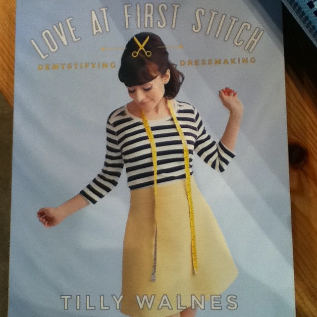 Just In: Love at First Stitch, by Tilly Walnes. This is a great book for beginners!