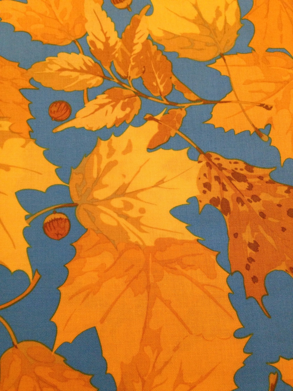 A fall print by Martha Negley