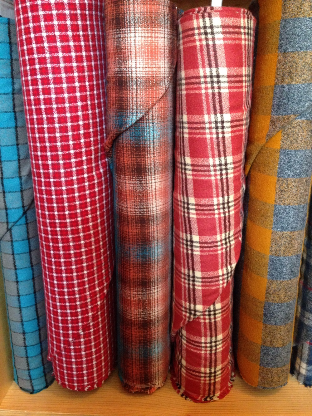 Plaid flannels - perfect for fall