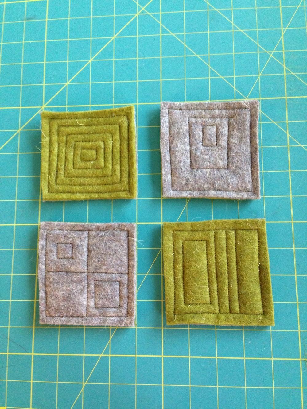 Geometric stitching