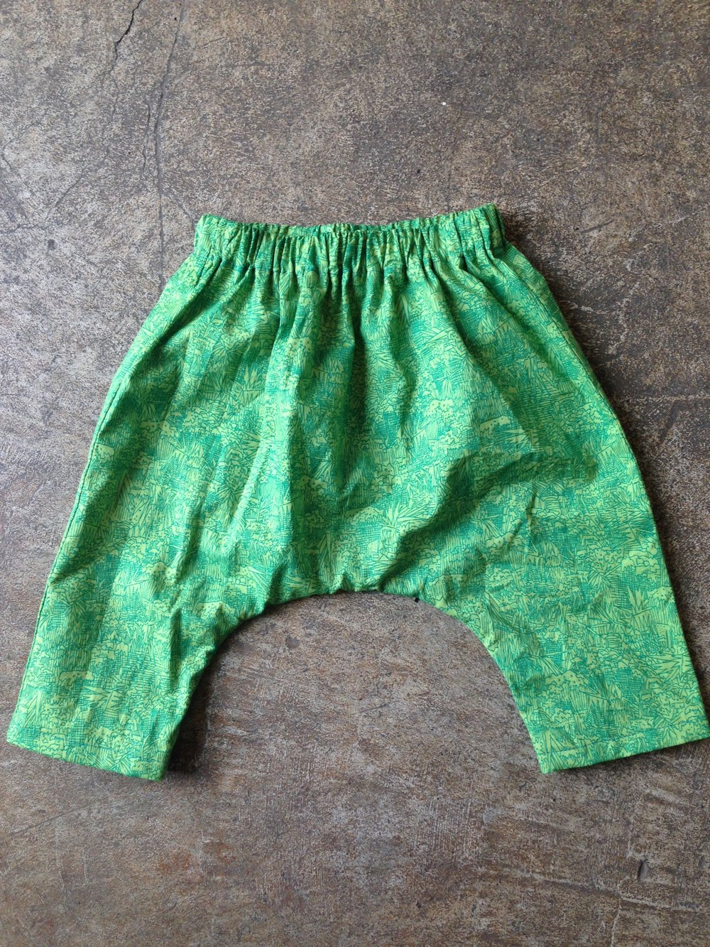 Harem Pants in Carolyn Friedlander cotton lawn