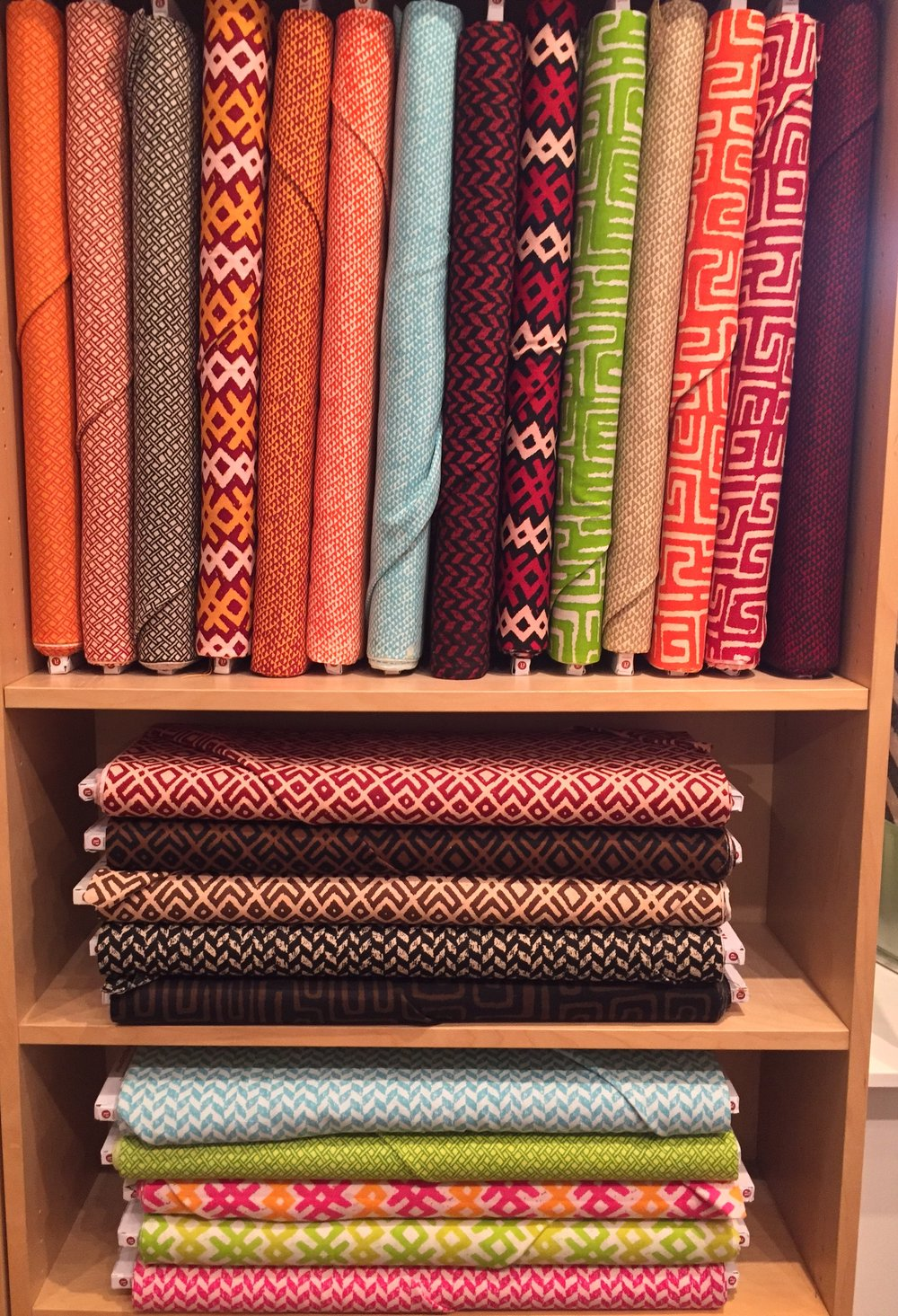 New group of textured cotton from Andover: Story Lines.