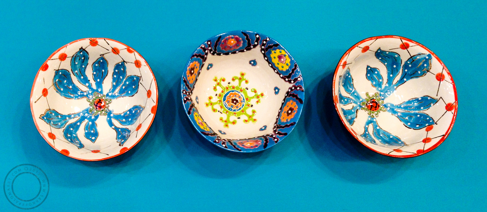 Bright and beautiful bowls by S Home- $25 each