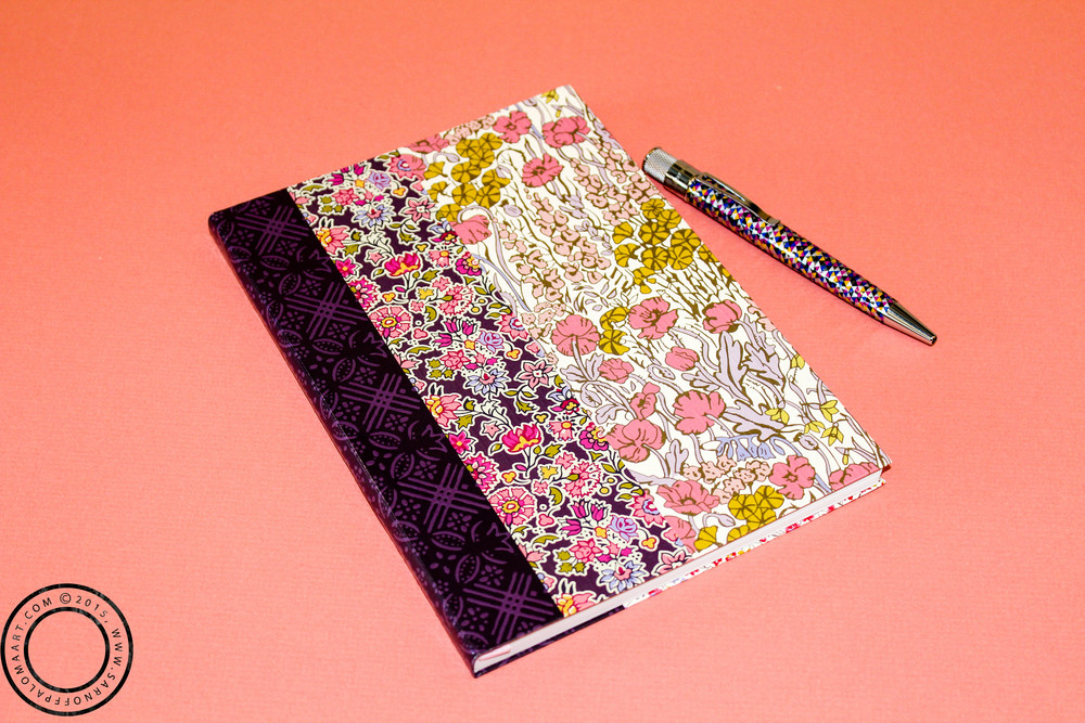 Floral Liberty Notebook