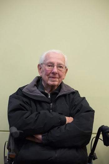 Mr.  Frank Leslie Blanchard, 96, worked as a manager at Little Chapel of The Chimes funeral home at the time of the flood. He shared his memories of that tragedy.
