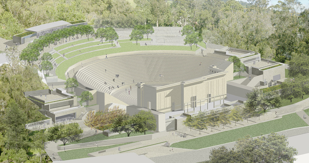 Hearst Greek Theater Master Plan