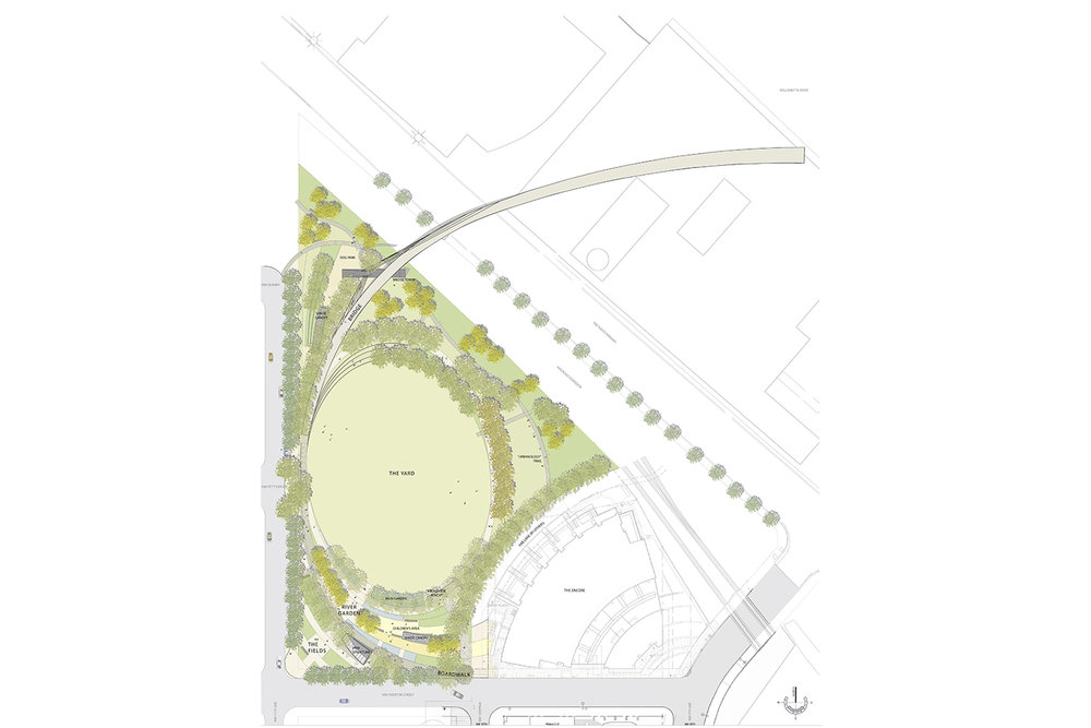 The Fields Park Site Plan