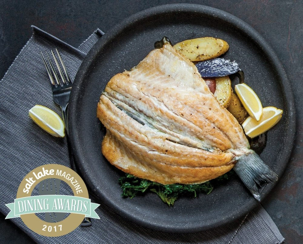 DINING AWARD WINNER: MANOLI'S Salt Lake Magazine, 2017