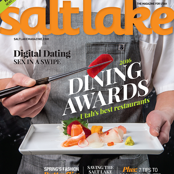 2016 Dining Awards: Utah's Best Restaurants    Salt Lake Magazine, 2016