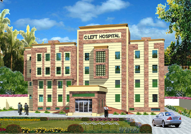 Artists impression of the new Cleft Hospital