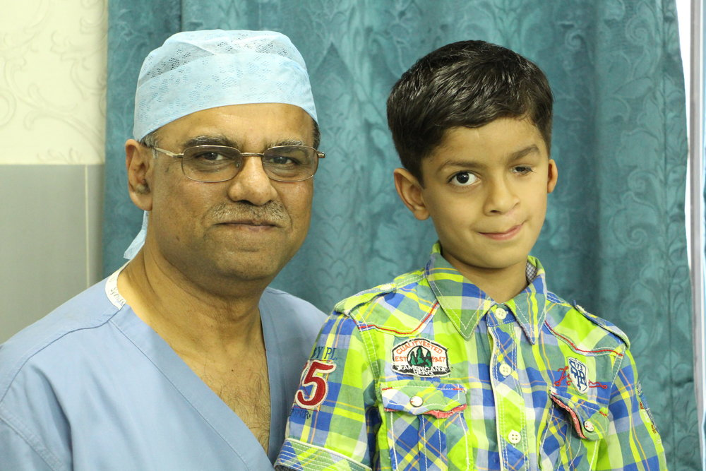 Dr Rafique with Faizan Ali