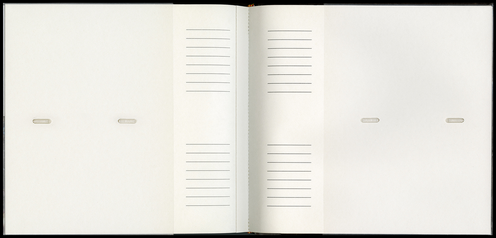 Untitled (Blank Pages)