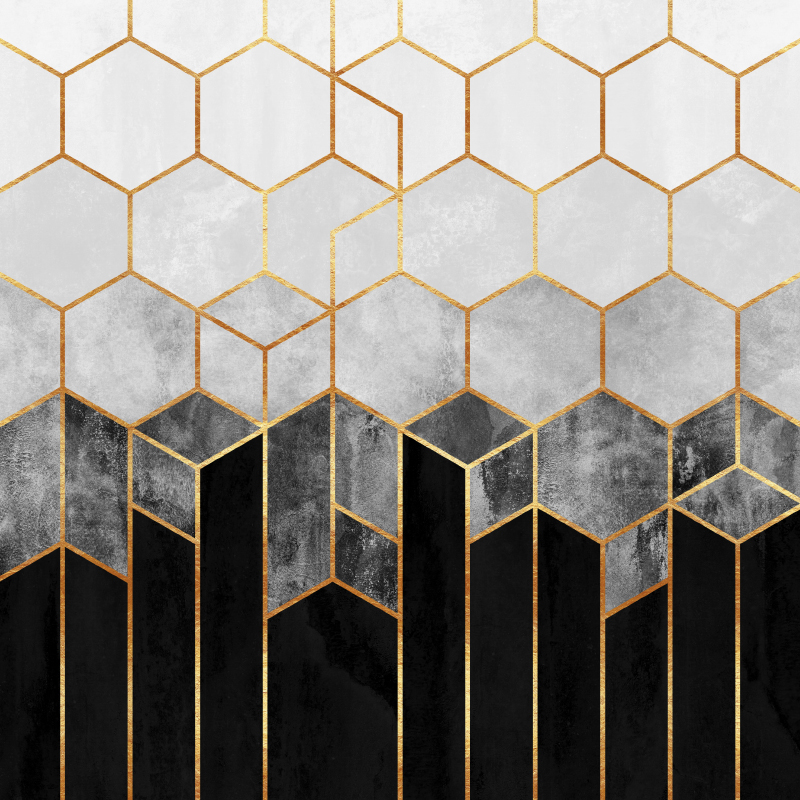 Black And White Hexagons.jpg