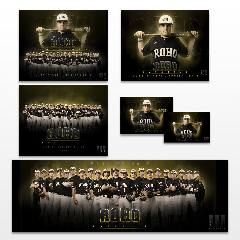 Media Kit for Returning Varsity Players 9th - 11th Grade in All Sports