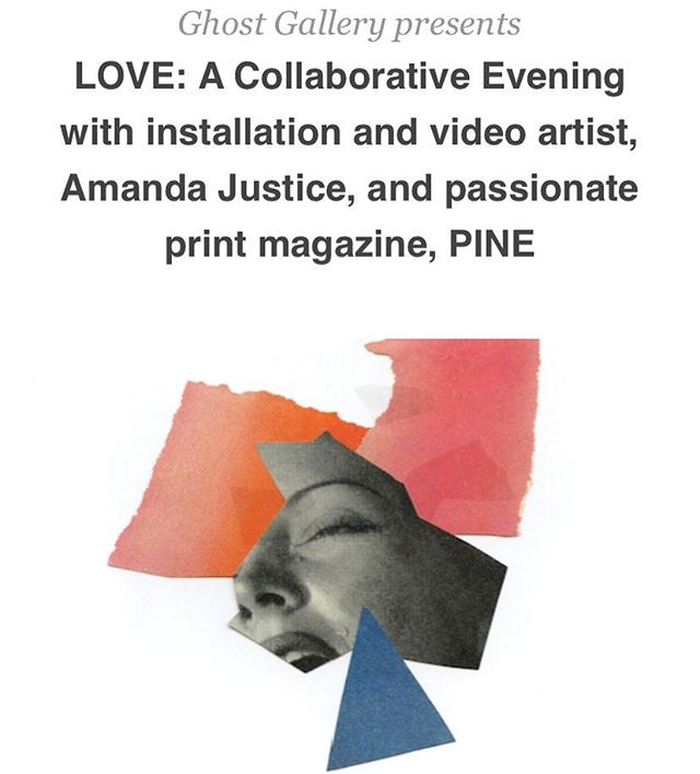 "You're invited! ‪Sunday, January 14th, 7-10pm. Ghost Gallery and Little Beast (@littlebeast.nyc) Present LOVE: A Collaborative Evening with installation and video artist, Amanda Justice, and passionate print magazine, PINE (@pine.magazine) Live storytelling, art exhibition, readings and drinks. *** Performances by Arti Gollapudi (@artiparty), Cha'ves Jamall (@chavbrand), Karolena Theresa (@karobeanah), Jordan Jensen(@mynameisjordanjensen) and Mamoudou N'Diaye (@mamoudouaboutnothing) *** Featuring art by Sophia Narrett (@sophianarrett), Anna Rindos (@annarindos), Najeebah Al-Ghadban (@nalghadban) and Amanda Justice (@ajustice)*** RSVP LINK IN BIO And preview our brand new ""Love"" issue of PINE Magazine! Artwork by @nalghadban  #pinemagazine #love #ghostxnewyork #littlebeast #amandajustice #storytelling #najeebahalghadban #sophianarrett #annarindos"