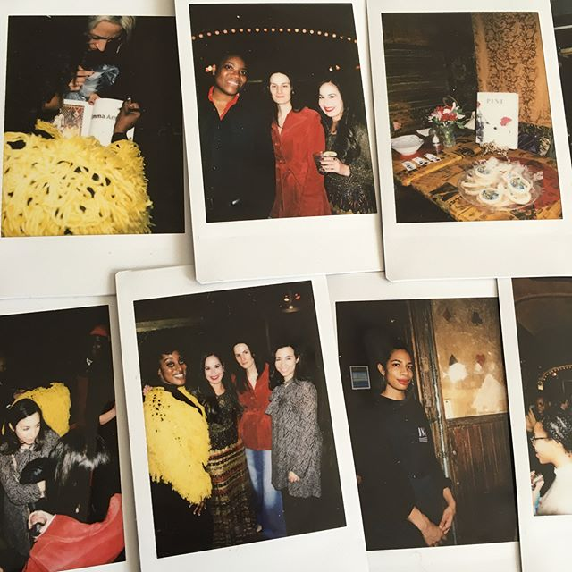 "#aboutlastnight A HUGE thank you to everyone who came to celebrate our launch of ""LOVE!"" And we are beyond grateful to our incredible writers @heatherjmet @100percentmija @annaburckhardt @___niama___ for their powerful readings—it's truly an honor to publish your work! #love #launch #party #resistance #pinemagazine #womenartists #cookies #temptats #conecousins"