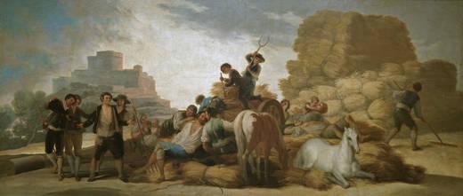 """""""La era"""". Goya, 1786-87."""