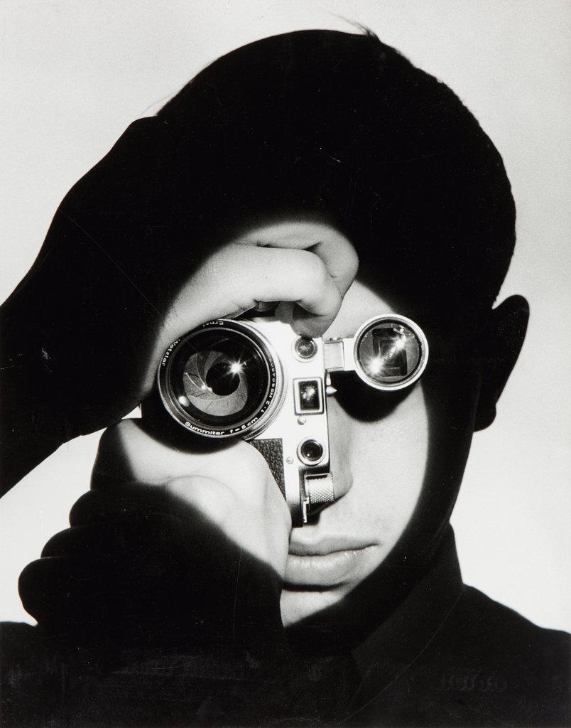 O fotojornalista. Foto por Andreas Feininger. 1951.