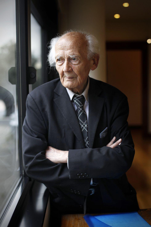 Zygmunt Bauman. Foto por Carlos Rosillo.