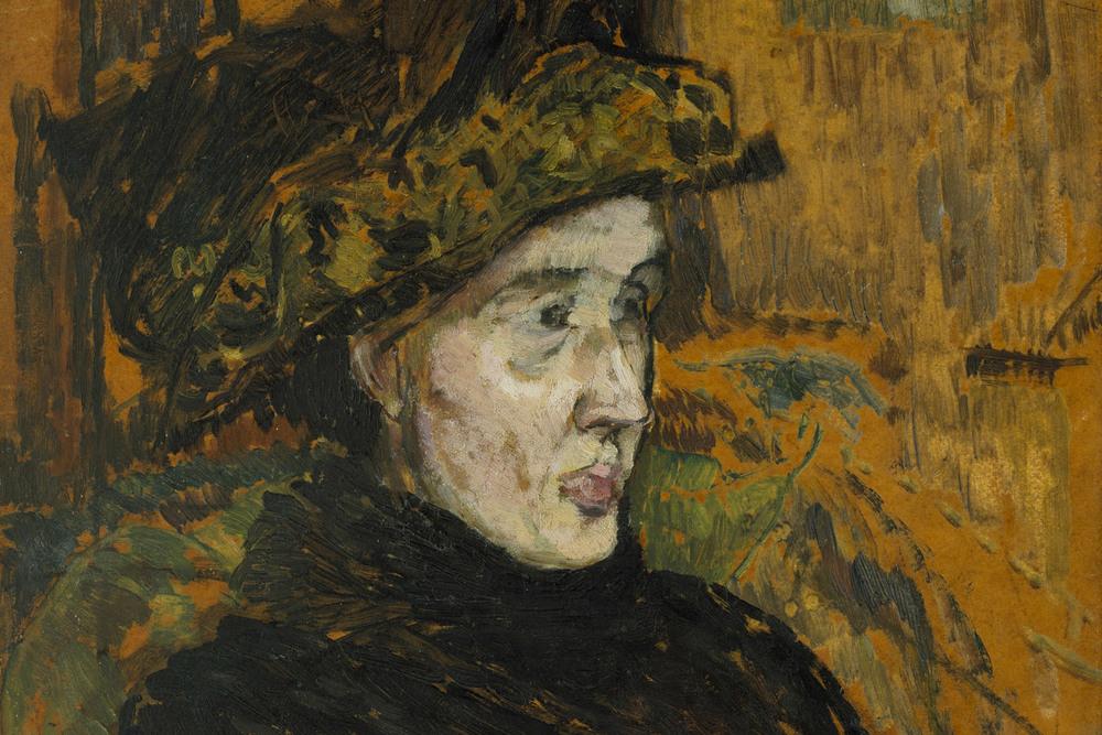 """Grande pensadora"": Virginia Woolf, por Duncan Grant, membro do grupo Bloomsbury."