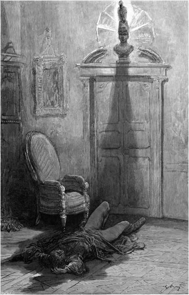 The Raven illustrated by Gustav Doré.