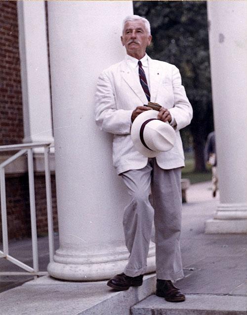 William Faulkner. Foto por Dean Cadle